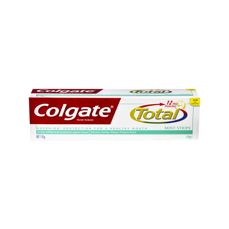 Colgate Toothpaste Total Mint Stripe 110g