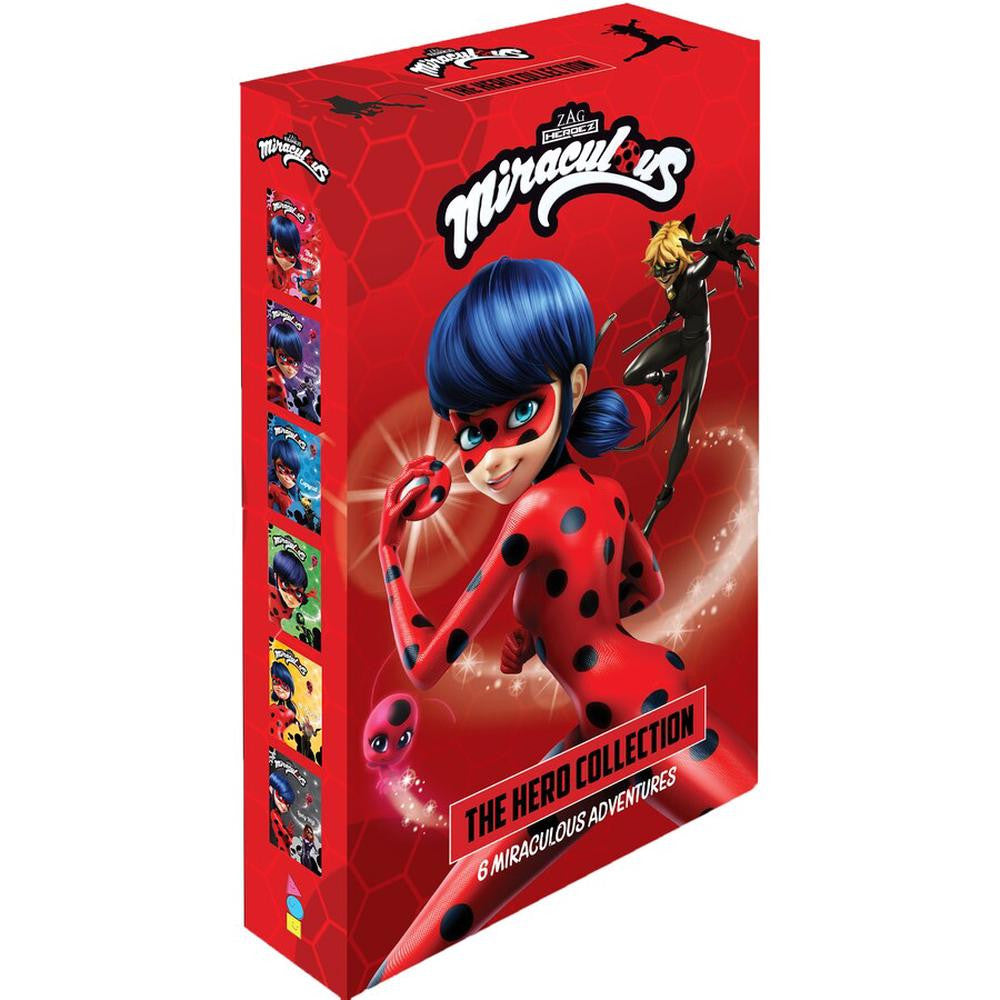 Miraculous: The Hero Collection 6 Book Set