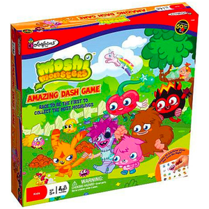 Moshi Monsters Colorforms Amazing Dash Board Game