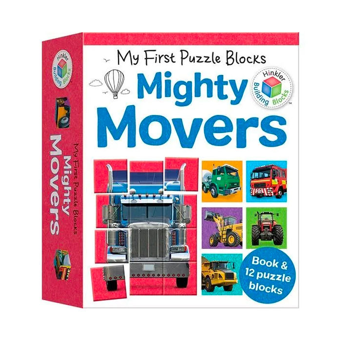 Hinkler My First Puzzle Blocks: Mighty Movers