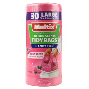 Multix Colour Scents Tidy Bags 34L - 30 Pack