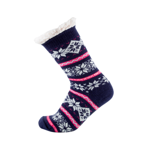 Sock Exchange Snugg Winter Design Socks - Navy