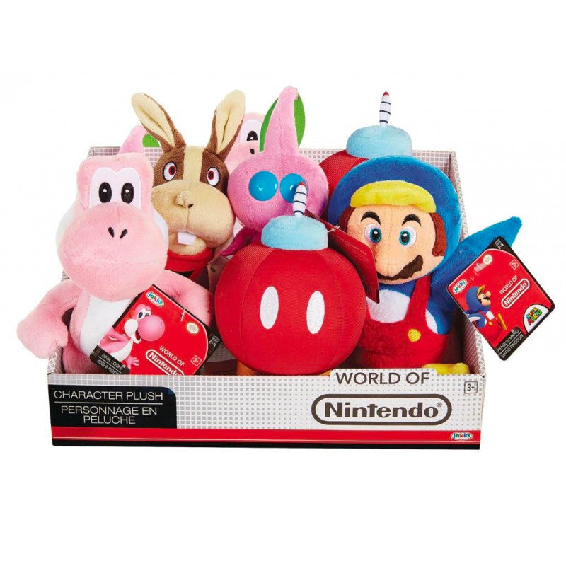 "Official World Of Nintendo Plush Toys ""7.5 (8 Pack)"