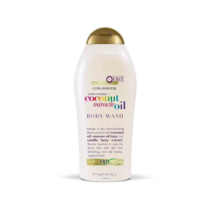 OGX Extra Creamy + Coconut Miracle Oil Body Wash 577mL