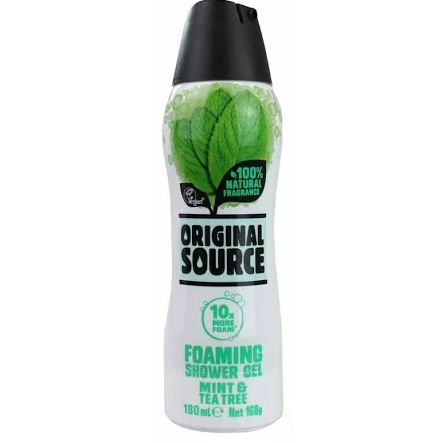 Original Source: Assorted Foaming Shower Gel (180ml)