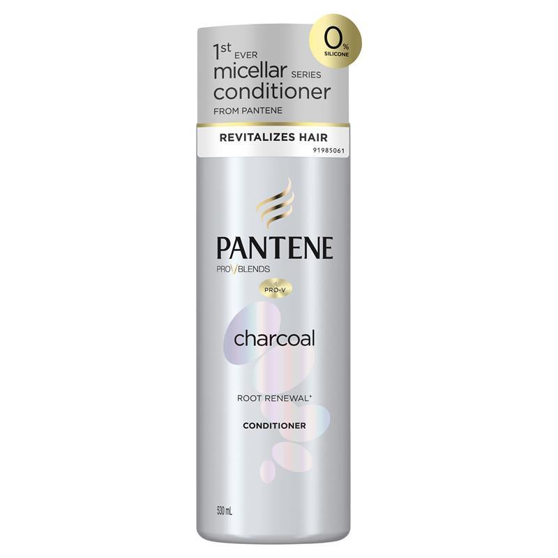 Pantene Pro-v Charcoal Root Renewal Conditioner - 530ml