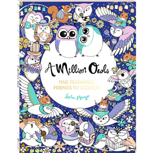 A Million Owls: Fine Feathered Friends to Colour
