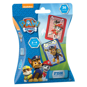 Paw Patrol Fish Card Game - 36 Cards