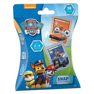 Paw Patrol Snap Card Game - 36 Cards