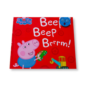 Peppa Pig: Beep Beep Brrrm! (Hard Cover Book)