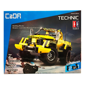 Cada Technic Remote Control Pickup King - 514 Pieces
