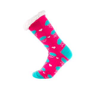 Sock Exchange Snugg Cloud Design Socks - Pink