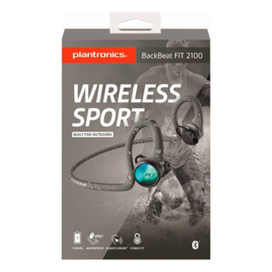 Plantronics BackBeat FIT 2100 Wireless In-Ear Headphones