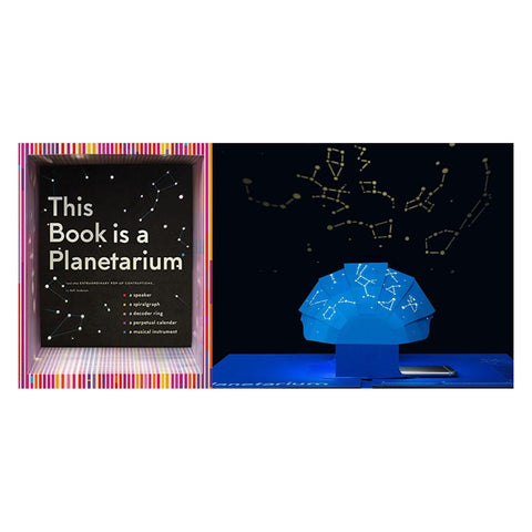 This Book Is a Planetarium: And Other Extraordinary Pop-Up Contraptions (Popup Book for Kids and Adults)