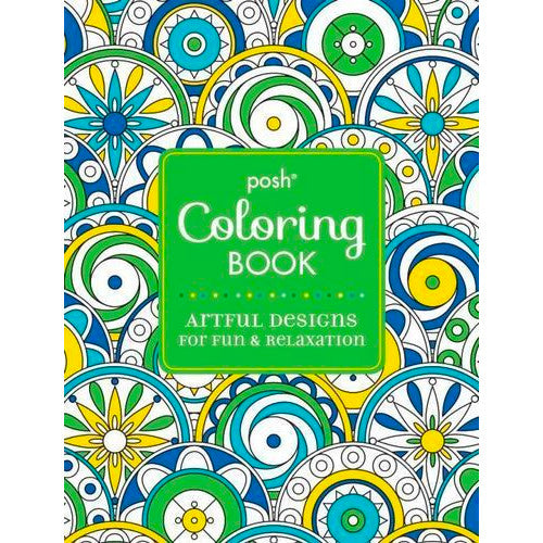 Posh Coloring Book Artful Designs