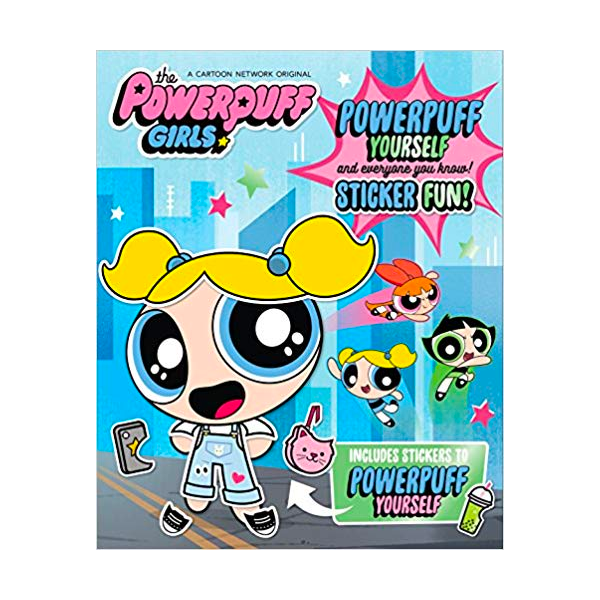 The Powerpuff Girls - Powerpuff Yourself Sticker Fun