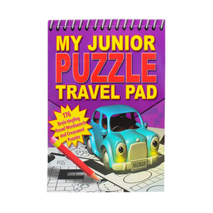 My Junior Puzzle Travel Pad Book