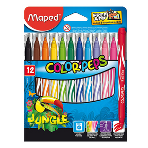 Maped Color Peps Jungle Kids Washable Markers