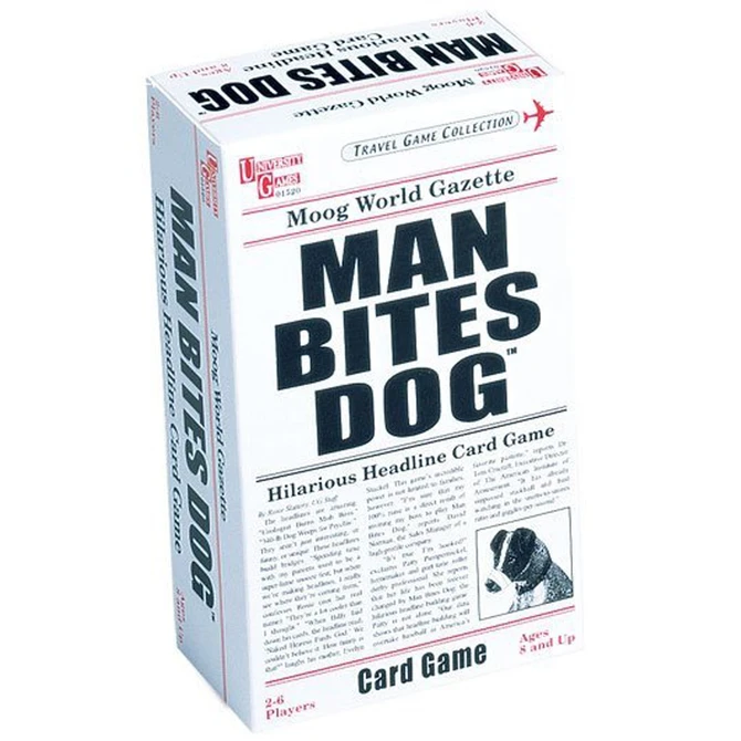 Man Bites Dog Card Game Game