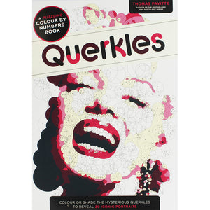 Querkles Colour By Numbers Colouring Book