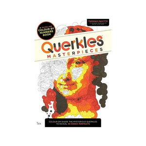 Querkles Master Pieces Colouring Book