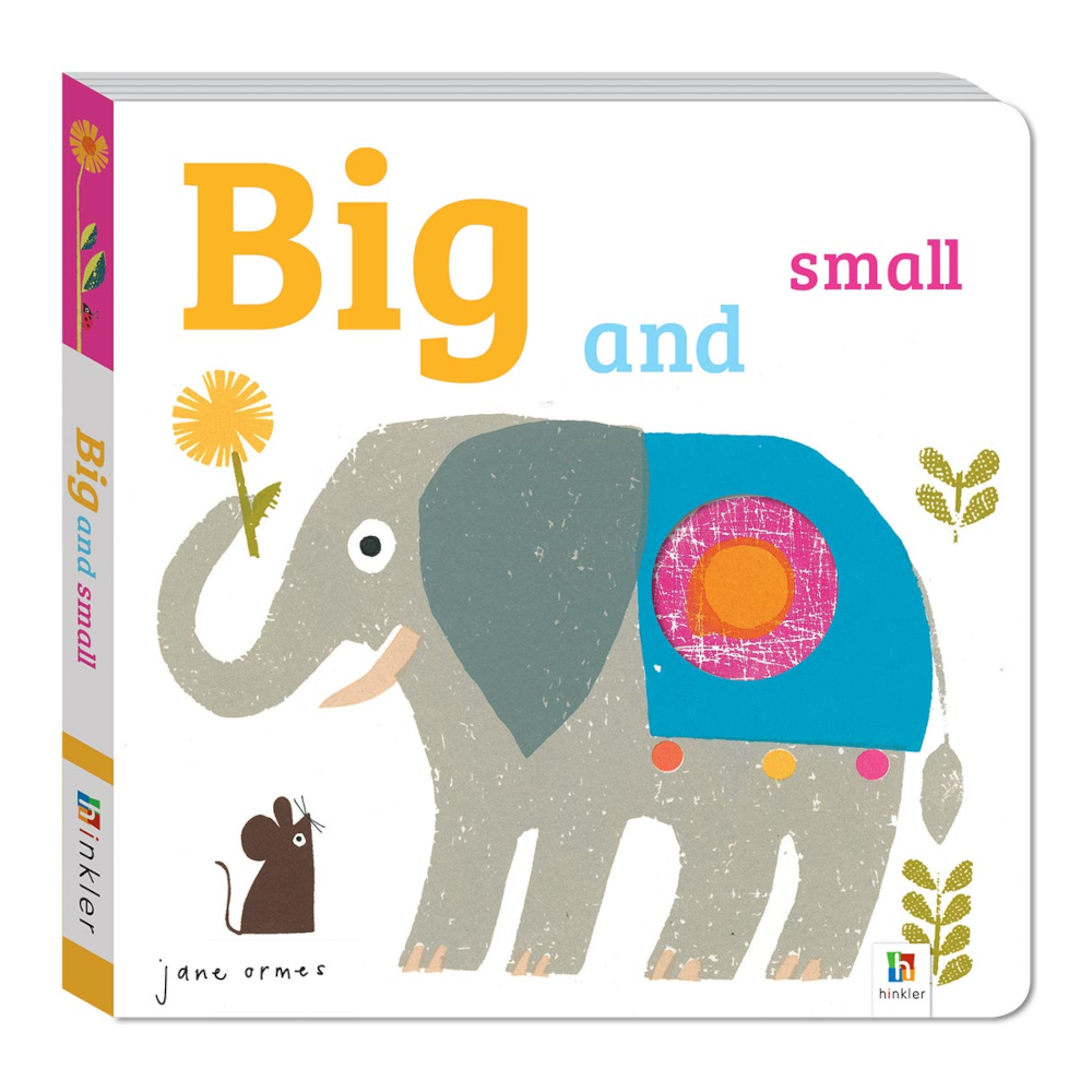 Peep Through Book: Big and Small