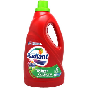Radiant Brilliant Whites Sharper Colours  Top and Front Loader liquid 1L