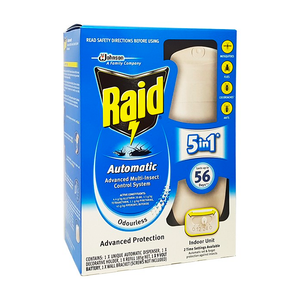 Raid Automatic Advanced Multi-Insect Control System Indoor Odourless 185g