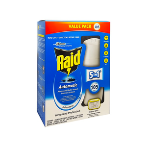 Raid Automatic Advanced Multi-Insect Control System Odourless 305g