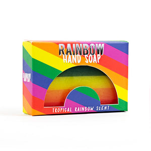 Gift Republic Rainbow Soap - Tropical Rainbow Scent