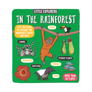 Little Explorers - In The Rainforest Flap Book