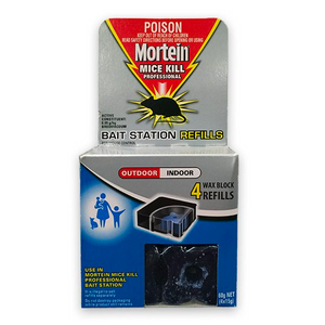 2 x Mortein Mice Kill Bait Station Refills 4pk