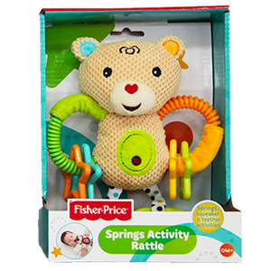 Fisher-Price Springs Activity Rattle Toy