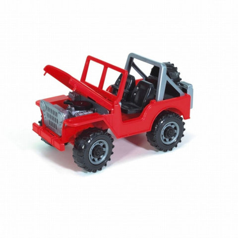 Bruder 1:16 Jeep Cross Off Road Vehicle - Red