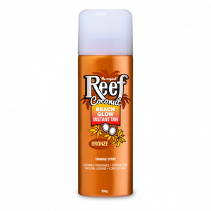 Reef Coconut Oil Beach Glow Instant Tan Bronze Spray 150g