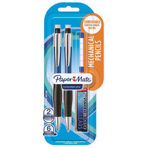 6 x Paper Mate Comfortmate Ultra Mechanical Pencil Pack Smooth Sales