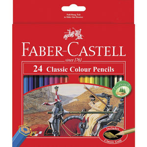 Faber Castell - 24 Classic Colour Pencils