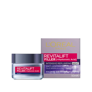L'Oreal Revitalift Filler Night Cream 50ml