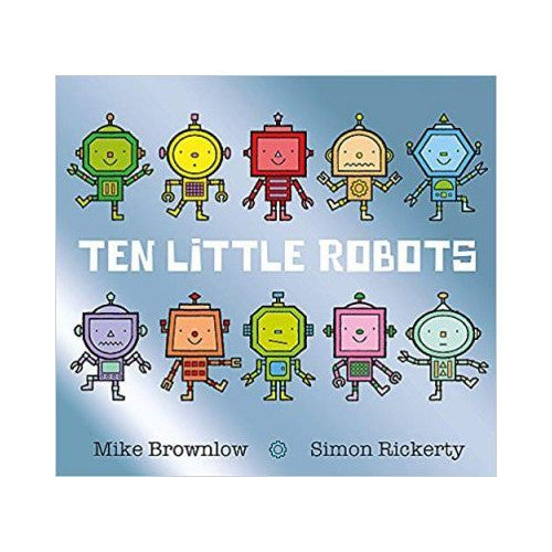 Ten Little Robots Book