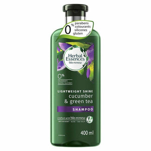 Herbal Essences Bio Renew Cucumber & Green Tea Shampoo 400mL