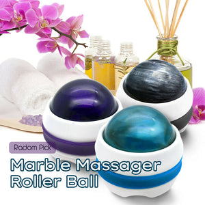 SwissCare Marble Massager With Massage Oil Chamber