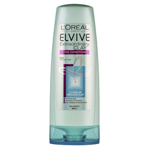 L'Oreal Elvive Extraordinary Clay Detoxing Conditioner 325ml