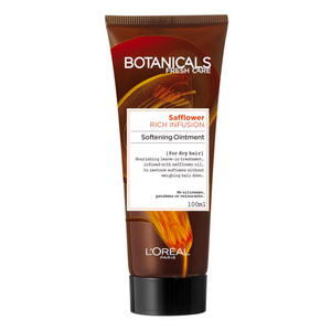 2 x L'Oreal Botanicals Safflower Rich Infusion Pommade Tube 100ml