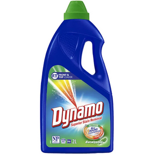 Dynamo Superior stain removal Front & Top Loader Liquid 2L - EUCALYPTUS