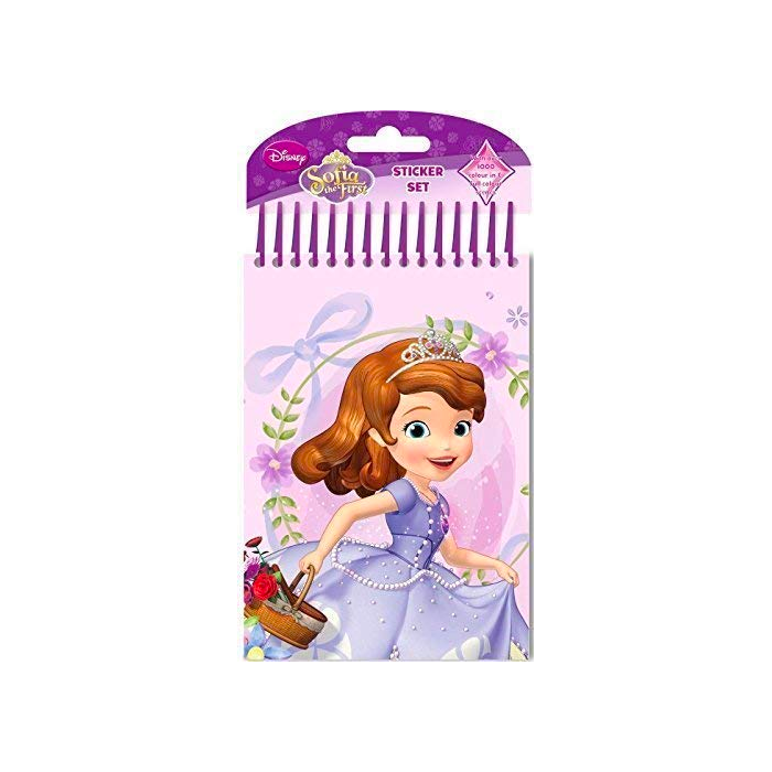 Disney: Sofia The First Colour Your Own Sticker Set