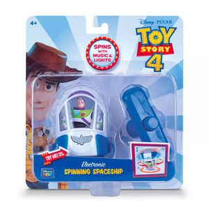 Toy Story 4 Electronic Spinning Space Toy