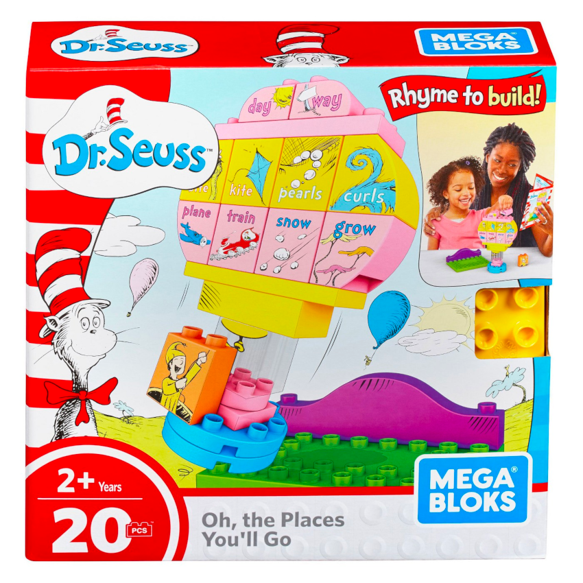 Mega Bloks Dr. Seuss Oh, The Places You'll Go Building Set