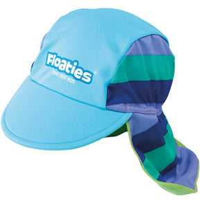 Floaties  Swim Hat- Green Striped