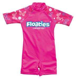 Floaties Swimsuit girls 2-3years - Pink Buttefly