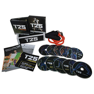 T25 Beach Body Workout Guide With Resistance Bands